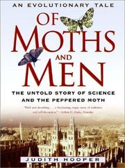Cover of: Of Moths and Men: An Evolutionary Tale