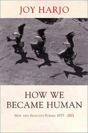 Cover of: How We Became Human | Joy Harjo
