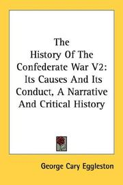 Cover of: The History Of The Confederate War V2