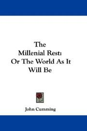 Cover of: The Millenial Rest
