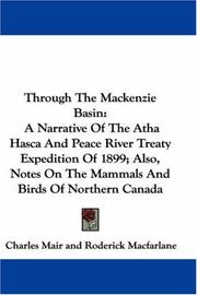 Cover of: Through the Mackenzie Basin