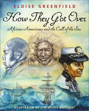 Cover of: How They Got Over: African Americans and the Call of the Sea