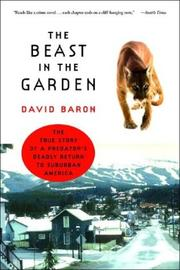 Cover of: The Beast in the Garden