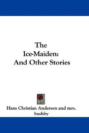Cover of: The ice-maiden: and other tales.
