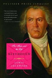 Cover of: Beethoven | Lewis Lockwood