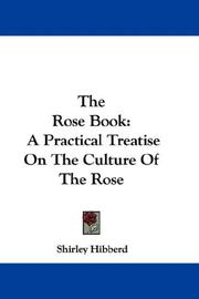 Cover of: The Rose Book