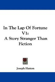 Cover of: In The Lap Of Fortune V1