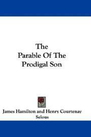 Cover of: The Parable Of The Prodigal Son | James Hamilton