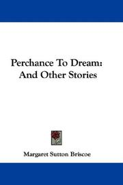 Cover of: Perchance To Dream