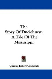 Cover of: The story of Duciehurst