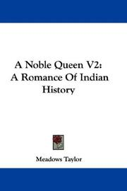 Cover of: A Noble Queen V2