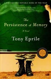 Cover of: The Persistence of Memory | Tony Eprile