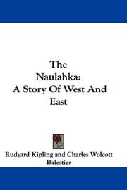 Cover of: The Naulahka by Rudyard Kipling