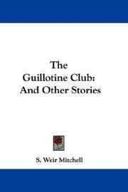 Cover of: The Guillotine Club