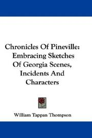 Cover of: Chronicles Of Pineville | William Tappan Thompson