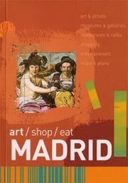 Cover of: Art/Shop/Eat Madrid