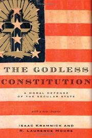 Cover of: The Godless Constitution | Isaac Kramnick