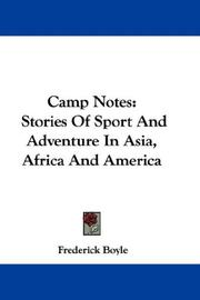 Cover of: Camp Notes