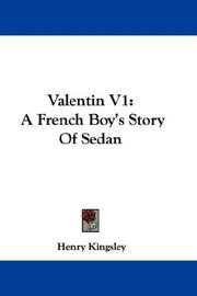 Cover of: Valentin V1