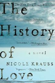 Cover of: The History of Love | Nicole Krauss