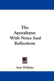 Cover of: The Apocalypse | Isaac Williams