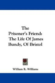 Cover of: The Prisoner's Friend