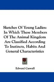 Cover of: Sketches Of Young Ladies | Edward Caswall