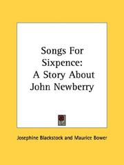 Cover of: Songs For Sixpence