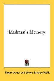 Cover of: Madman's Memory