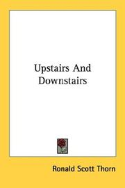 Cover of: Upstairs and downstairs