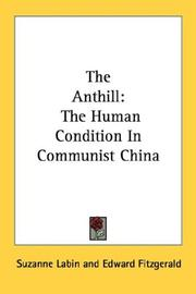 Cover of: The anthill