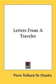 Cover of: Letters From A Traveler