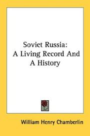 Cover of: Soviet Russia