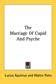 Cover of: The marriage of Cupid and Psyche