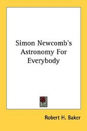 Cover of: Simon Newcomb