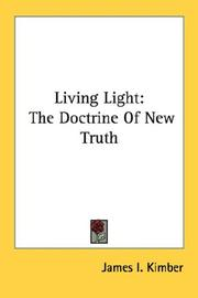 Cover of: Living Light | James I. Kimber