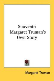 Cover of: Souvenir
