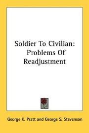 Cover of: Soldier to civilian