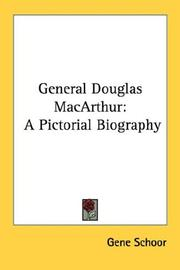 Cover of: General Douglas MacArthur