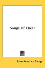 Cover of: Songs Of Cheer