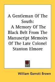 Cover of: A Gentleman Of The South