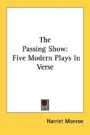 Cover of: The passing show