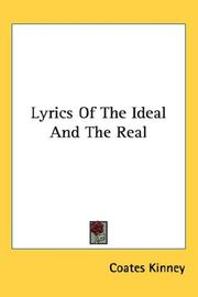 Cover of: Lyrics Of The Ideal And The Real