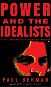Cover of: Power and the Idealists