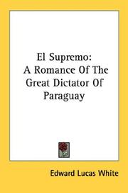 Cover of: El Supremo