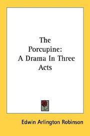 Cover of: The Porcupine