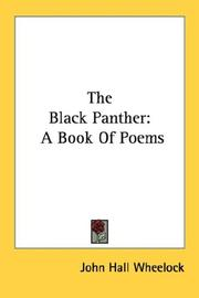 Cover of: The Black Panther | John Hall Wheelock