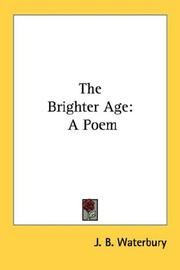 Cover of: The Brighter Age