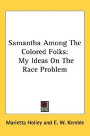 Cover of: Samantha Among The Colored Folks | Marietta Holley