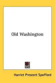Cover of: Old Washington